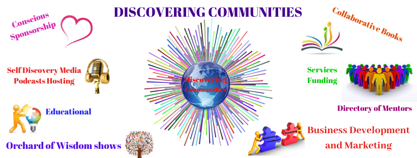 DISCOVERING COMMUNITES INFO brand