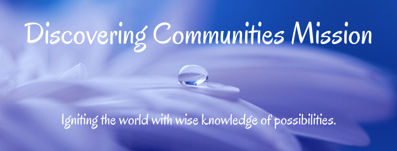 Discovering Communities Mission oregano